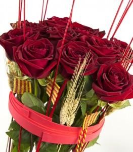Composición de Rosa Sant Jordi