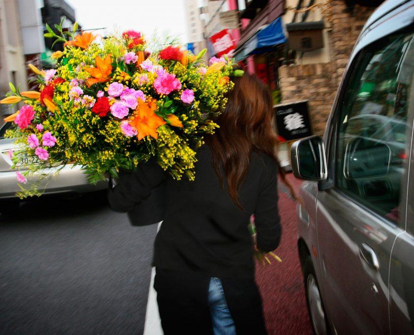 entrega urgente flores