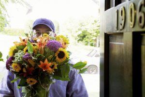 repartidor de flores