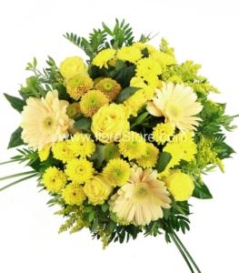 flores cumpleaños amarillas
